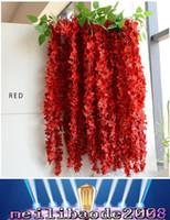 1.6м Длинные свадебные Centerpieces Главная партия Декоративные цветы Гирлянда Craft орнамент для свадьбы с украшения партии MYY