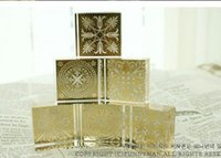 Wholesale Free ship pc Flower fahsion stamps decorative square crystal cool seal model