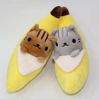 banana cat toy - Hot Sale Style quot cm New Banana Cat Plush Doll Stuffed Toy Movies Cartoon Plush Toy For Baby Gifts