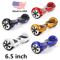 Wholesale USA Stock Days Electrics Hoverboard Skateboard Self Balance Wheel Smart Drift Board Balancing Scooter inch Two Wheels Drop Shipping