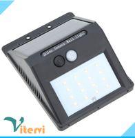 Wholesale Courtyard waterproof LED Solar lamp leds IP65 LED solar Wall light spot light street PIR Motion Sensor