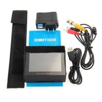 audio lcd television - car TFT LCD Audio Video Security Tester Closed Circuit Television Camera Cam Test Monitor Portable inch