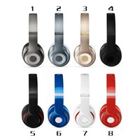 Wholesale Refurbished Studio Headphones Bluetooth Headphone Over Ear AAAAA Quality With Retail Package by free DHL