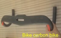 Wholesale 2016 top sale full carbon fiber road carbon bike handlebar matt glossy black white gold logo handlebar integrated Colga carbon handlebar