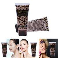 Wholesale Woman Whitening Nude Makeup Leopard BB Magic Cream Creme Smooth Moisturizing Makeup Liquid Foundation Creme ML High Quality