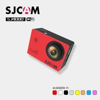Wholesale dv time Original SJCAM SJ4000 Series SJ4000 amp SJ4000 WIFI Action Camera Waterproof Camera P HD Sport DV