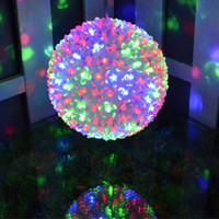 ball candles - Holiday Lighting CM LEDs Colorful Flower Ball Waterproof Light Fairy Garland Decor Lamps Outdoor Christmas LED Decoration