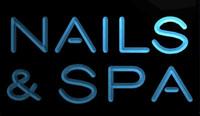 beauty saloon - LS1134 b Nails Spa Beauty Salon Saloon Neon Light Sign jpg