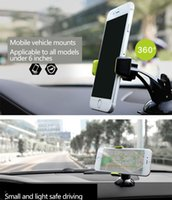 abs dashboard - ROCK Car Mount Phone Holder TabPow Green Dashboard Windshield Car Mount Degrees Rotating Cell Phone Holder ABS phone stand