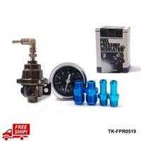 Wholesale Tansky TOME Fuel Pressure Regulator Fuel Regulator With black Gauge Have in stock H Q TK FPR0519 FS