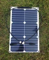Wholesale 18W High efficiency flexible solar cell portable solar panel used to charger V battert