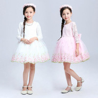 baby clothing items - New Items Children Girls Dress Baby Princess Dress Kids Party Dance Dresses For Girls Long Sleeve Autumn Clothing Plus Size T T