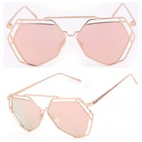 Cheap Brand New Womens Mens Vintage Alloy Frame Sunglasses Spectacles Eyewear UV Protection 1 Pcs Free Shipping[CA04044]