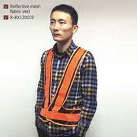 Wholesale Orange Running Outdoor Sports Safe Reflective Vest