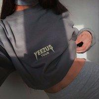 air force hoodies - YEEZUS Designer Loose Sweatshirts Boost Hip Hop Women Brand Hoodie Air Force Flight Coat Bomber Jumpers High Street Pullover