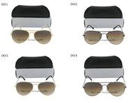 Sports amber red - New Hot Sell Women Men Gold Frame Brown gradient Sunglasses mm and mm size len come box