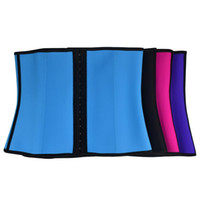 Wholesale XS XL Colors Women Latex Rubber Waist Trainers Waist Training Belt Kim Waist Training Belt Underbust Corset Body Shaper Shapewear