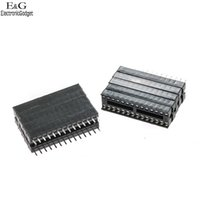 Wholesale pins Wide DIP DIP28 IC Sockets Adaptor Solder Type Pitch mm good quality