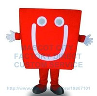 anime costume shop - Can Change Color Anime Cosply Costume Red Hand Shopping Bag Mascot Costume Shop Advertising Mascotte Fancy Dress Suit Kits