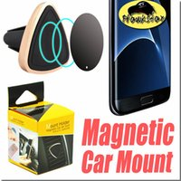 airs magnetic - Car Mount Air Vent Magnetic Universal Car Mount Phone Holder for iPhone s One Step Mounting Reinforced Magnet Easier Safer Driving