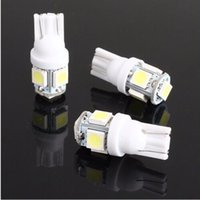 amber interiors - 1000pcs High Quality T10 W5W SMD Car Interior Lights LED DC V License Plate Bulbs smd Clearance Lamps led Marker