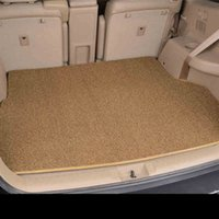 Wholesale Customized Car Floor Mat Trunk Mat Synthetic Lawn Thread No Odour Cargo Floor Tray Protector Car Accessories Environmental Material Clear F