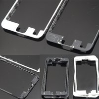 Wholesale Original Middle Frame for iphone s Front LCD Screen Digitizer Holder Middle Mid Bezel Bracket with Hot Glue for iphone plus