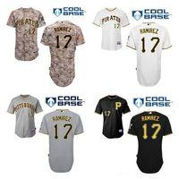 aramis ramirez - 2016 Aramis Ramirez Jersey Cool Base Pittsburgh Pirates Jerseys Black White Grey Camo