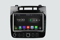 Wholesale Double Din Andriod Inch Touch Screen VW Touareg Car DVD GPS With Bluetooth Radio Navigator