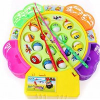 Wholesale fishing toy good baby toy with music fish Electric Fish good gift for Kid Children Educational Toy