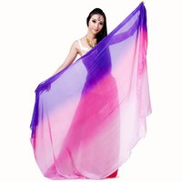 bellydance fans - Silk Veil Belly Dance cm cm Belly Dance Costumes Accessories Bellydance Hip Scarf Fan Veil Silk Veils Belly Dance