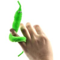 Wholesale 120pcs Assorted Colors Mr Fuzzy Plush Magic Worm Twisty Trick Toys Street Wiggle Worm Toys For Kids Children