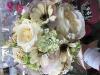 beaded flower bouquet - Hot Sale Rose Wedding Bouquet Handmade Flowers Top Quality Artificial Peony Beaded Brooch Bride Wedding Bouquet Bridal Bouquets
