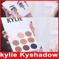 max factor - Kylie Jenner Kyshadow eyeshadow Pressed Powder Bronze Kit Eye shadow Palette Bronze Preorder Natural Brighten Makeup Colors in stock