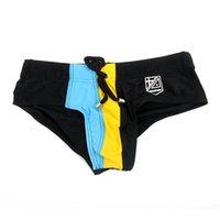 assorted boxer - Men s Swim Trunks Assorted Color Sexy Swimwear Boxers Briefs Underwear Colors Hot