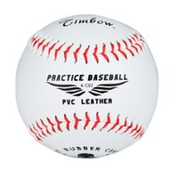 Wholesale Timbows Reduced Impact Teen Practice Baseballs Safty Soft Ball PVC Synthetic Leather Skeleton Fashion Pack of