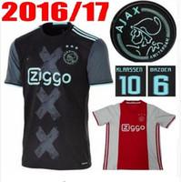 Wholesale 2016 Amsterdamsche Football Club Ajax Soccer Jersey survetement football Shirt maillot de foot Thai quality