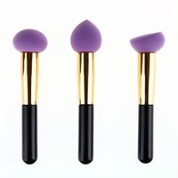 beauty drops hands - Makeup Foundation Sponge Blender Blending Cosmetic Puff Flawless Powder Smooth Water Drop Puff Beauty Makeup Tool With Hand
