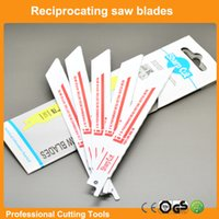 Wholesale 10pcs quot Bi metal Reciprocating saw blades TPI sabre saw blades for wood and nail cutting oscillating tools saw blades