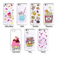 apples tom - Cartoon TOM and JERRY Printing Painting Clear Transparent TPU Phone Back Cover Case For Iphone s s plus infinix X554 X600 etc