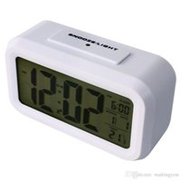 Wholesale Whole Sale Morning Clock low Light Sensor Technology light on Backligt When Detect Low Light soft Light That Won t Disturb the Sleep