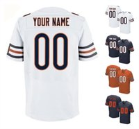bears jersey numbers - 2016 Bears Men s Elite Custom Chicago Home Away Orange White Blue Football Jerseys Any Name Number URLACHER High Quality Stitched Wear