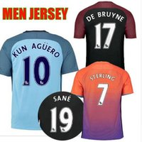 Wholesale 2016 manchester camiseta Reals top thai soccer jersey survetement maillot de men t shirt city