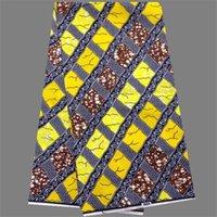 batik fabric sale - Hot sale ankara cloth series African batik real wax fabric for evening dress yards DFW3