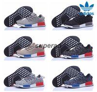 Cheap 2016 Adidas NMD Runner x Yeezy Grey Black Men Running Shoes Sneakers Originals Classic Super Star Sport Shoes 40-45