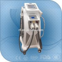 beijing hair - Beijing OEM ODM Double Screen in OPT Hair Removal RF ND YAG LASER Tattoo Removal Machine