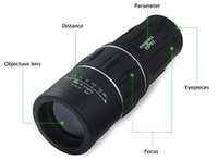 Wholesale NEW Day Night Vision x52 HD Optical Monocular Hunting Camping Hiking Telescope H210780 gift box