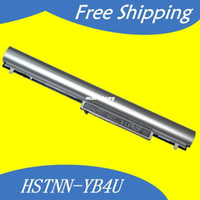 Wholesale HOT MAH Laptop Battery For hp Pavilion TouchSmart SleekBook HY04 HSTNN YB4U HSTNN IB4U HSTNN LB4U