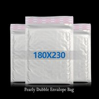 Wholesale 7g cm White Color Shockproof Pearly Bubble Envelope Bag Packaging Bags For Seller
