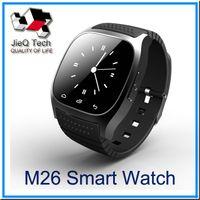 Montre Smart Watch M26 U WatchWrist montre pour iPhone 6 6S Android Phone Smartwatch pour hommes avec la boîte de détail VS U8 smartwatch